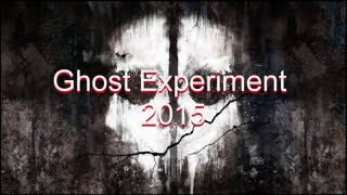 Ghost Experiment 2015 - Halloween Celebration