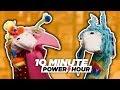 The Great Glittery Sock Puppet Palooza (ft. Matt) - 10 Minute Power Hour