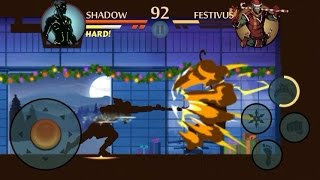 Shadow Fight 2 - SHADOW Vs FESTIVUS [NEW UPDATE]