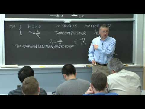 3. Schrodinger Equation and Material Waves