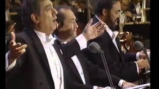 O 39 Sole Mio Carreras Domingo Pavarotti Los Angeles 1994 Emozionare Scherzando