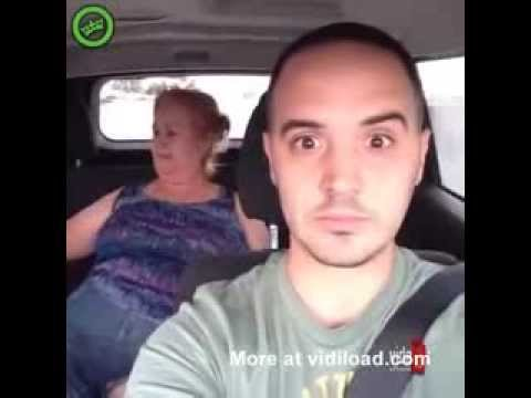 Crazy Fat Woman In The Backseat Of Taxi