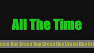 Watch Green Day All The Time video