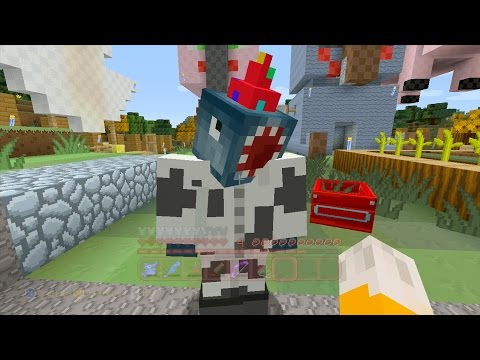 Minecraft Xbox - Quest For Squid's Grandmother (56)