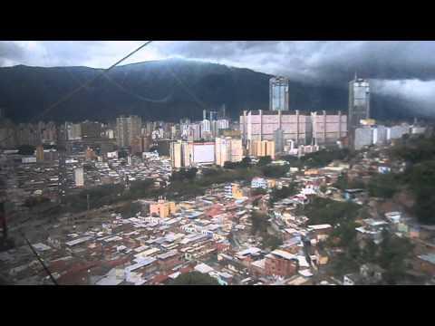 METRO CABLE DE SAN AGUSTIN-PARQUE CENTRAL CARACAS-VENEZUELA