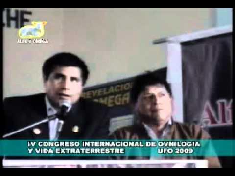 Ovnis Perú — El Caso Donato Cervantes (Testimonios: IV Congreso de Ovnilogía 2009) [Parte 1/5]