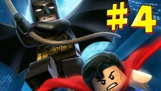Lego Batman 2: DC Super Heroes - Walkthrough - Part 4 [HD] (X360/PS3/Wii/PC)