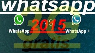 WHATSAPP GRATIS TELCEL 3G SIN ROT NI APLICACIONES 2015 - ANDROID