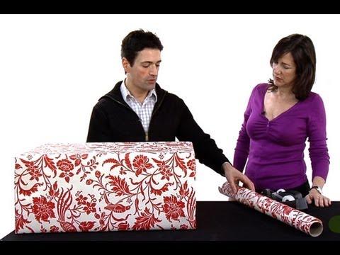 C mo envolver para regalo un presente de gran tama o - Como envolver un regalo grande ...