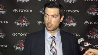 Colliton Post Game Oct  14 2017