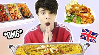 international ALL YOU CAN EAT BUFFET in london !!!