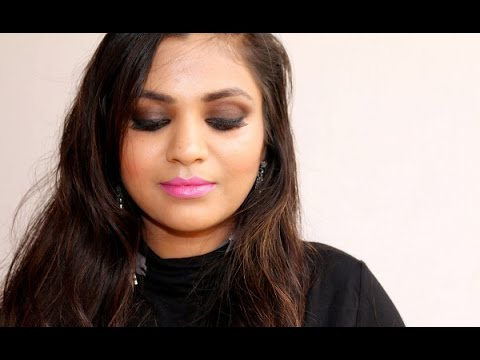 Quick & Super Easy  Smoky Eye Indian Date Night Makeup Look