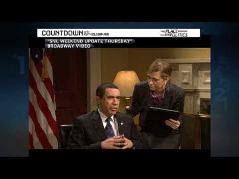 SNL Obama Glen Beck White House Keith Olbermann Lawrence O