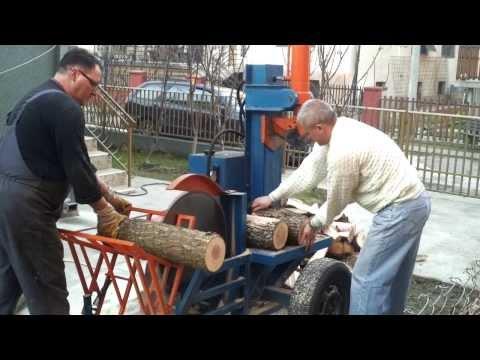 Cepac za drva sa cirkularom
