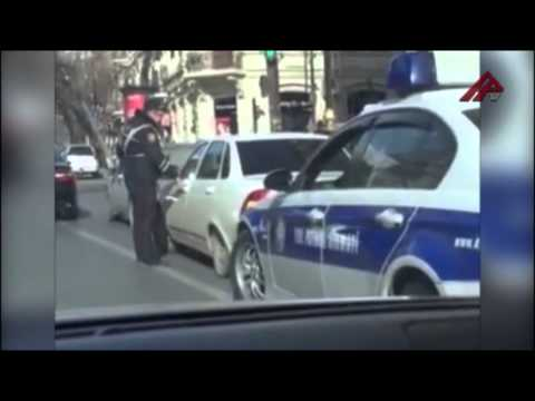 Oxu.az - Bakıda Polisi Belə Vurdular video