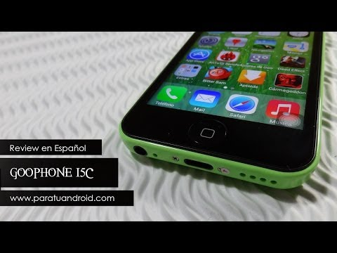 Goophone i5C ( Clon Iphone 5C ). caracteristicas. analisis a fondo y video review en Español