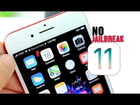 Get Custom Status Bar in iOS 11 NO Jailbreak