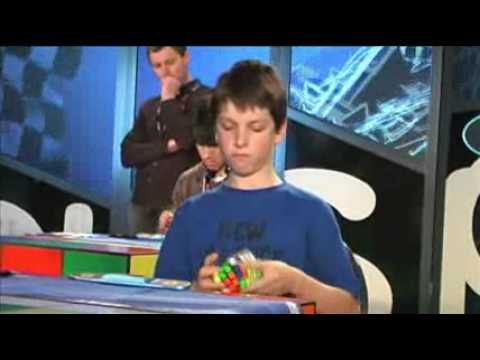 Australian record Rubik's cube 4x4 solved in 49.11 - Feliks Zemdegs - New Zealand Championships '09