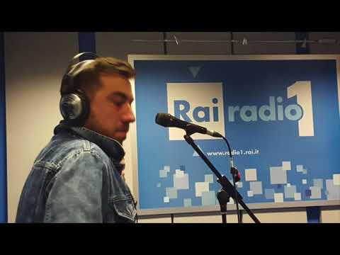 Coez - Le luci della città (live - acustico @ Rai Radio 1)