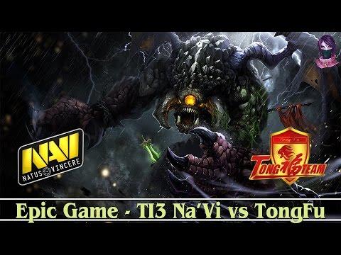 Most Epic Game : TI3 -  NA'Vi vs TongFu #3 (bo3) (RU v1lat & Maelstorm)