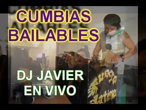 CUMBIAS  BAILABLES ECUATORIANAS  MIX dj javier en vivo 2012