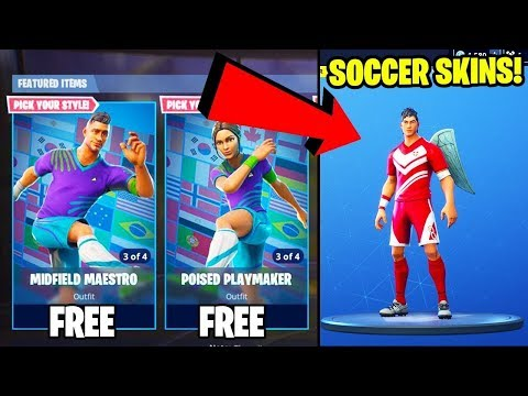 FORTNITE LIVE PS4 SOCCER SKIN UPDATE INFO