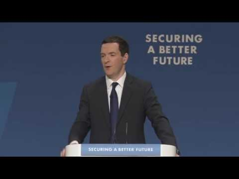 Chancellor George Osborne Conservative Party Conference - Truthloader