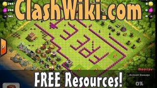 Free Resources in Clash Of Clans