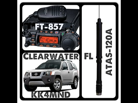 Install Yaesu ATAS 120A Ham Radio Screwdriver Antenna