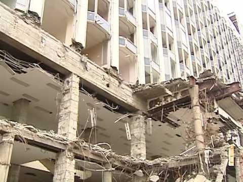 The Demolition of the Rossiya Hotel