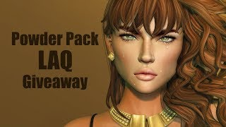 Powder Pack LAQ Giveaway in Second Life