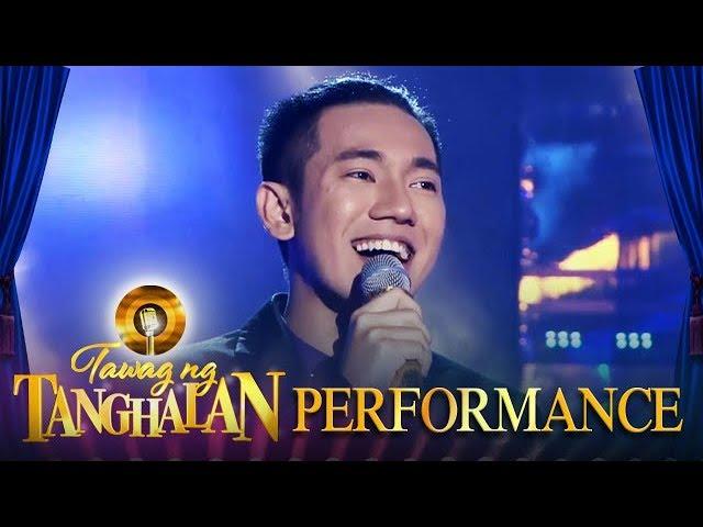 Tawag ng Tanghalan: John Michael Dela Cerna | Your Love (Day 6 Semifinals)