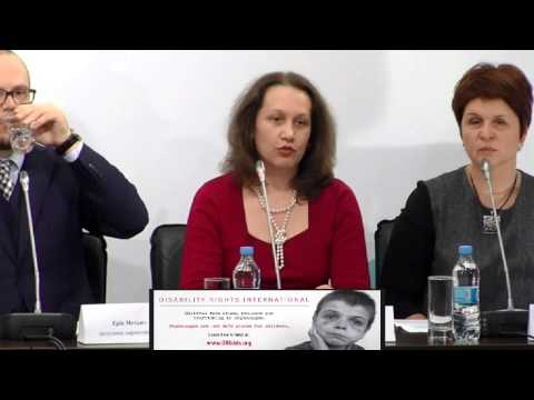 Disability Rights International. Ukraine Crisis Media Center, 16th of April 2015