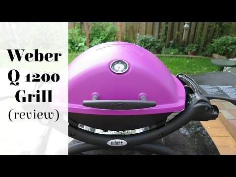 size matters when grilling new weber q1200 grill review. Black Bedroom Furniture Sets. Home Design Ideas