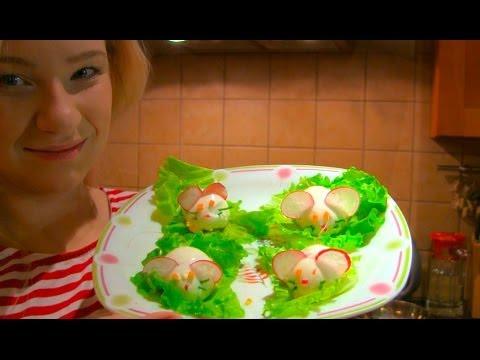 Кухонный влог: покупка продуктов, завтрак - Блины, готовим закуску вместе + помощник на кухне!