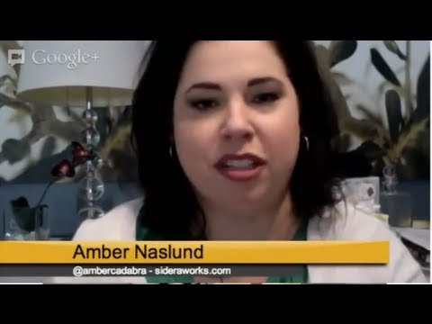 Social Business? Hangout with Amber Naslund
