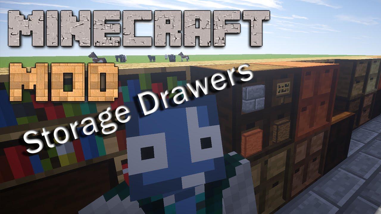 Minecraft Mods Storage