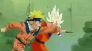 Nauto Vs Goku