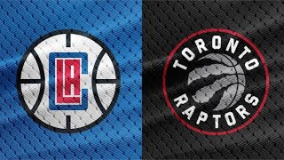 Los Angeles Clippers vs Toronto Raptors | Live Reactions & Play-By-Play