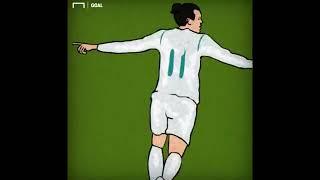 BONGDA+ Sieu pham cua Bale theo phong cach hoat hinh