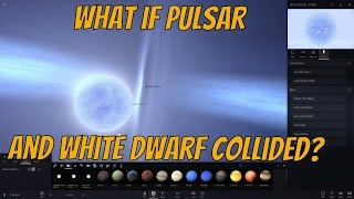 What if Neutron Star Collided with White Dwarf? Universe Sandbox²