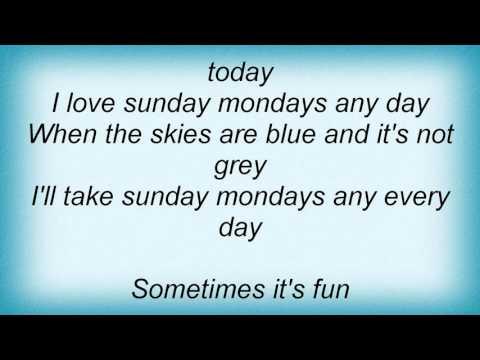 Lenny Kravitz - Sundays Mondays