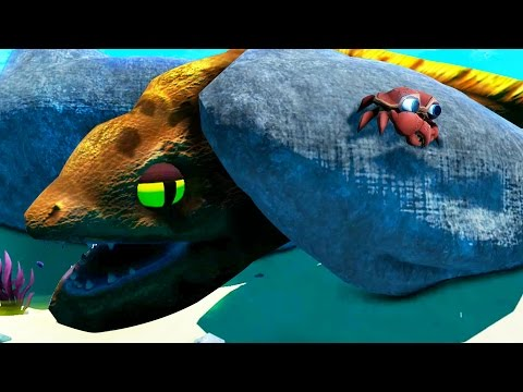 Giant Eel Sneak Attack Feed And Grow Fish Part 12