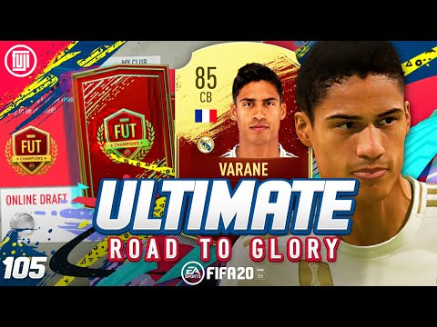 REWARDS...WHAT!!! ULTIMATE RTG #105 - FIFA 20 Ultimate Team Road to Glory
