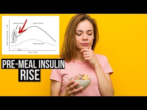 Carbs Not Only Road to Insulin Rise: pre-meal insulin release