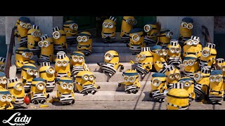 Download lagu Tones and I - Dance Monkey / [Despicable Me 3 (2017) - Minions in Jail Scene]