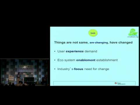 Using Android Outside the Mobile Phone Space - Android Builder Summit 2012