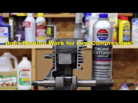 Does Restore Work?  Will it Improve Engine Cylinder Compression?