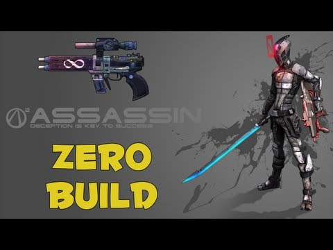 Borderlands 2: High Damage Pistol Build for Zero