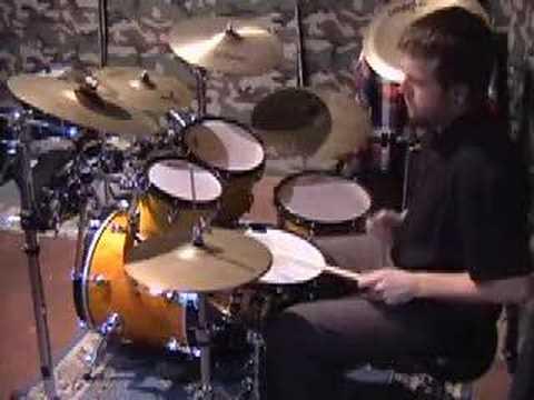 very short drum solo
